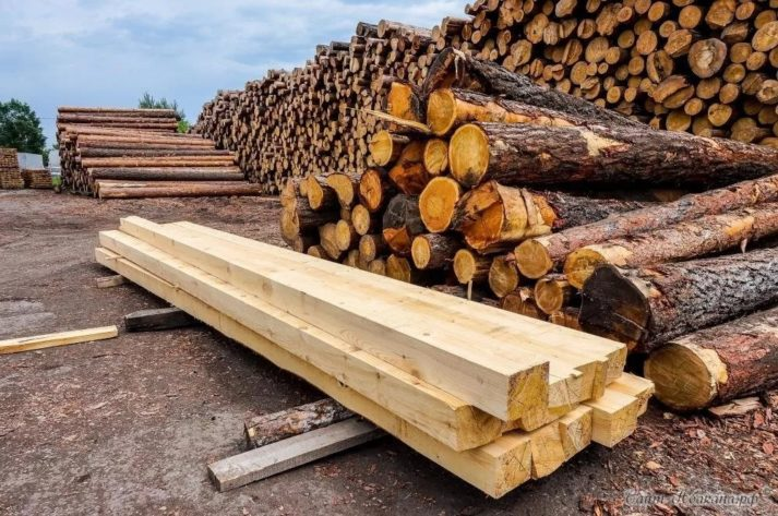 Beam 150x150x6000 mm conifer