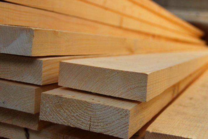 Edged board 25x200x6000 mm (grade 1-2)